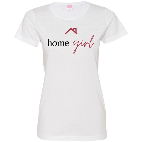 Home Girl 3516 Ladies' Fine Jersey T-Shirt