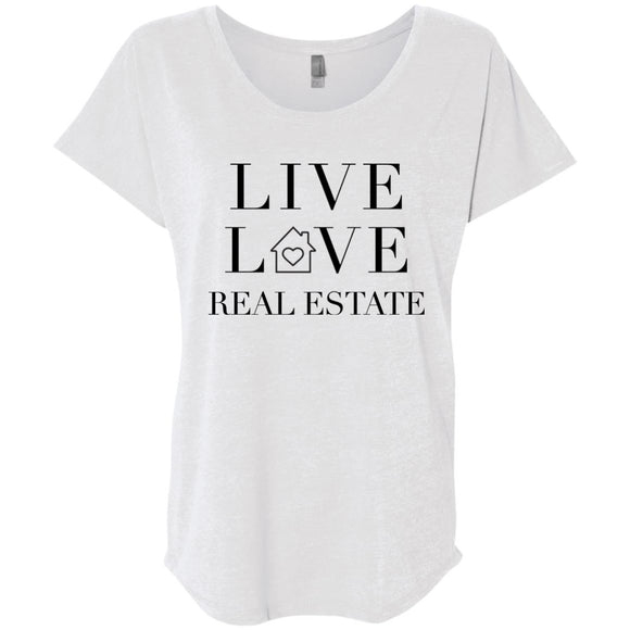 Live Love Real Estate Loose Fit Women's Shirt