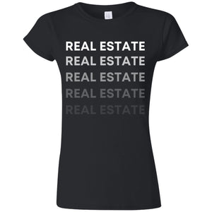 REAL ESTATE G640L Softstyle Ladies' T-Shirt
