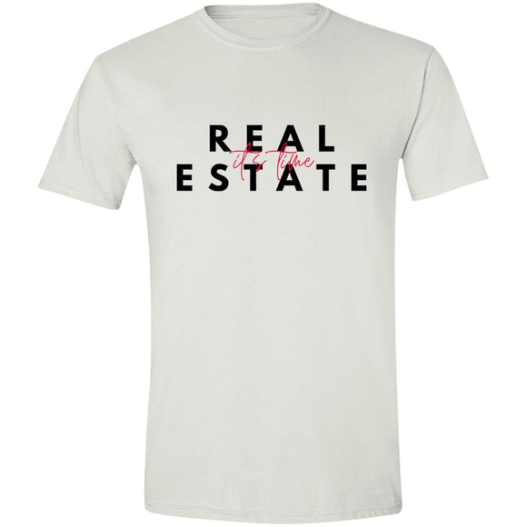 Real Estate It's Time G640 Softstyle T-Shirt