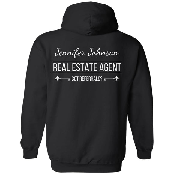 Customizable Real Estate Agent Pullover Sweatshirt