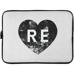 Heart R E Laptop Sleeve - 15 Inch
