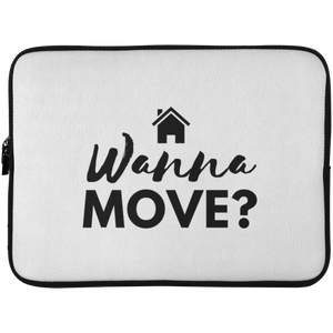 Wanna Move Laptop Sleeve - 15 Inch