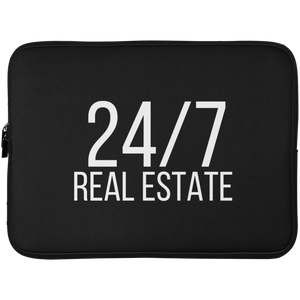 24 / 7 REAL ESTATE Laptop Sleeve - 15 Inch