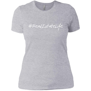 #RealEstateLife Ladies' Boyfriend T-Shirt