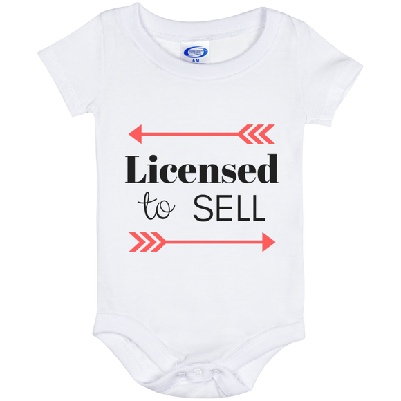 Licensed to Sell Baby Onesie 6 Month