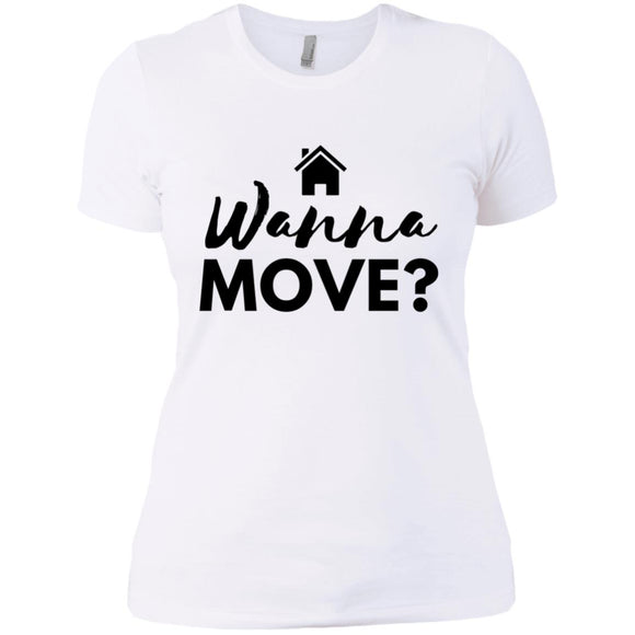 Wanna Move Ladies' Boyfriend T-Shirt