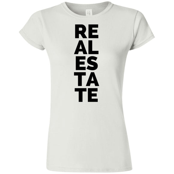 Real Estate Vertical G640L Softstyle Ladies' T-Shirt
