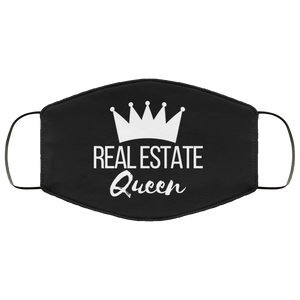 Real Estate Queen FMA Face Mask