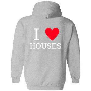 I love houses Pullover Sweatshirt