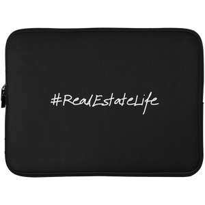 #RealEstateLife Laptop Sleeve - 15 Inch