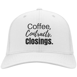 Coffee Contracts Closings Hat