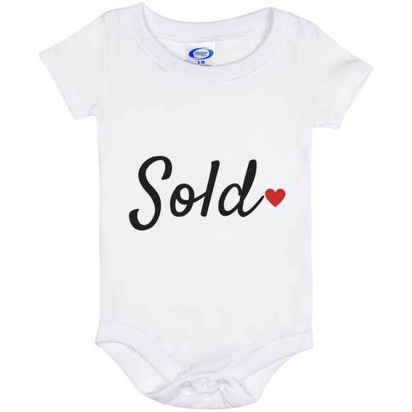 Sold Baby Onesie 6 Month