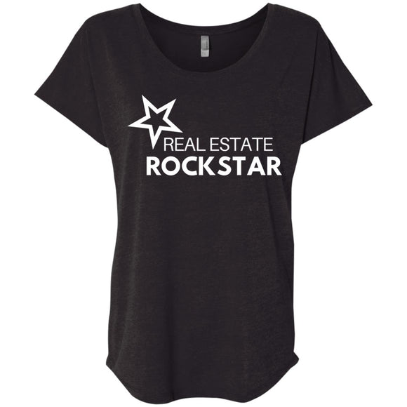 Real Estate Rockstar Ladies' Loose Fit Shirt
