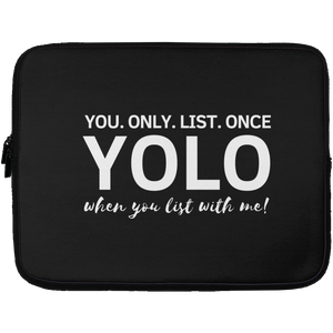 YOLO Laptop Sleeve - 13 inch