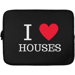 I love houses Laptop Sleeve - 13 inch