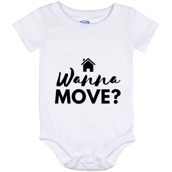 Wanna Move Baby Onesie 12 Month