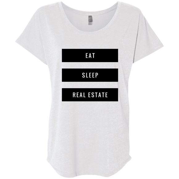 Eat Sleep Real Estate Loose Fit Women's Shirt