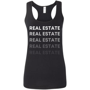 REAL ESTATE G645RL Ladies' Softstyle Racerback Tank