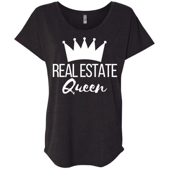 Real Estate Queen Ladies' Loose Fit Shirt
