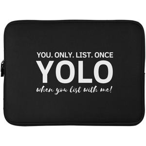 YOLO Laptop Sleeve - 15 Inch