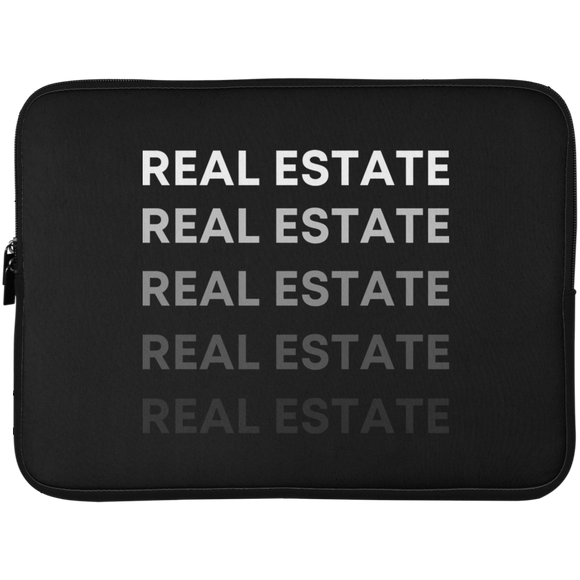 REAL ESTATE 72042 Laptop Sleeve - 15 Inch