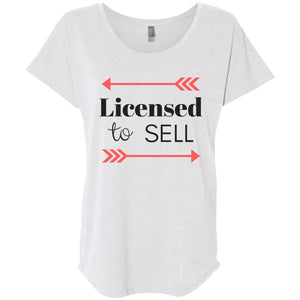 Licensed to Sell Loose Fit Women's Shirt