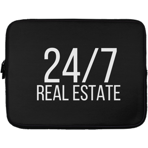 24 / 7 REAL ESTATE Laptop Sleeve - 13 inch
