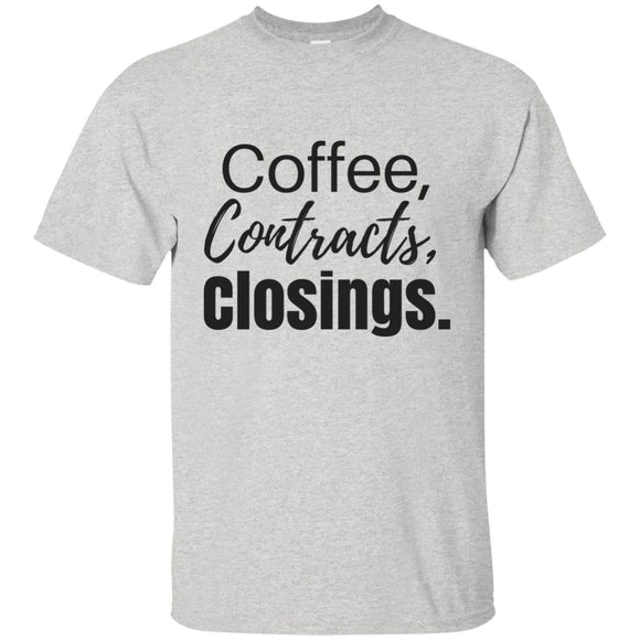 Coffee Contracts Closings T-Shirt