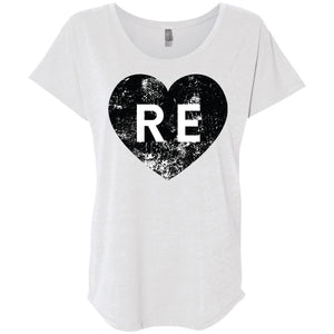 Heart R E Ladies' Loose Fit Shirt