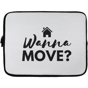 Wanna Move Laptop Sleeve - 13 inch