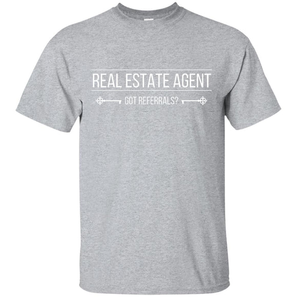 Customizable Real Estate Agent Shirt G200 Gildan Ultra Cotton T-Shirt