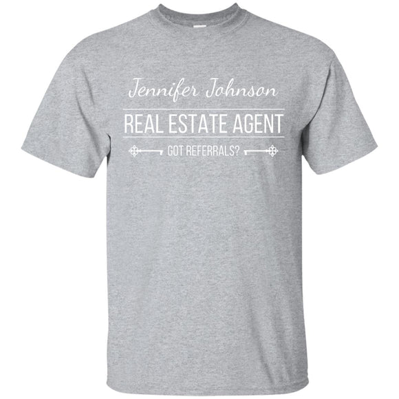 Customizable Real Estate Agent G200 Gildan Ultra Cotton T-Shirt