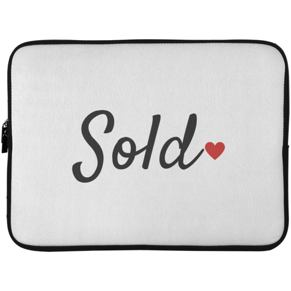 Sold Laptop Sleeve - 15 Inch