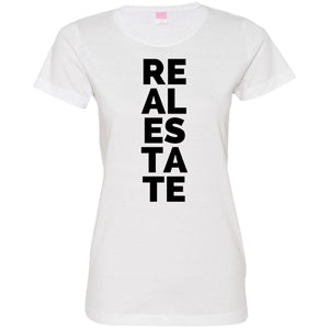 Real Estate Vertical 3516 Ladies' Fine Jersey T-Shirt