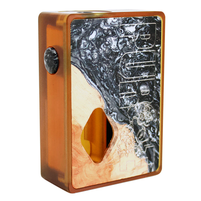Ultem Stab Wood Squonk Mod by Purge Mods