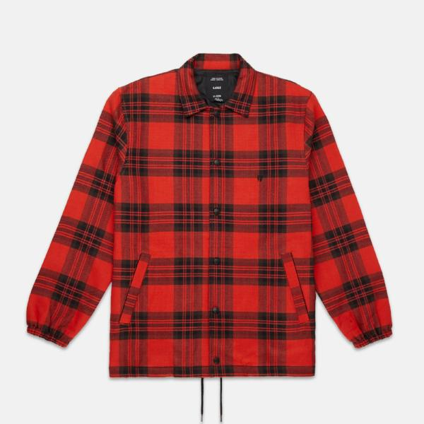 FLANNEL COACH'S JACKET