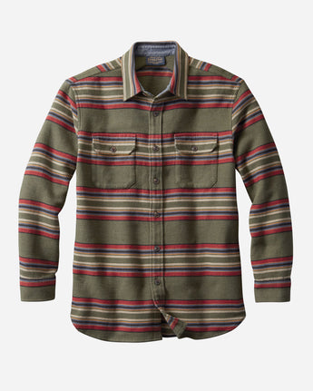 Blanket Stripe Overshirt