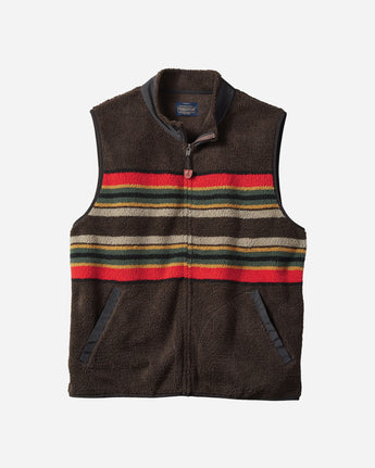 Camp Stripe Fleece Vest