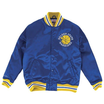 NBA SATIN JACKET WARRIORS