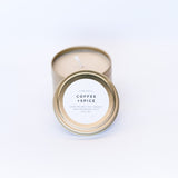 Travel Tin Candles - Coffee + Spice