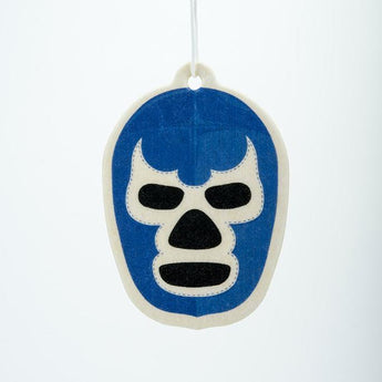 El Santo Mask Blue Fresh Linen Air Freshener