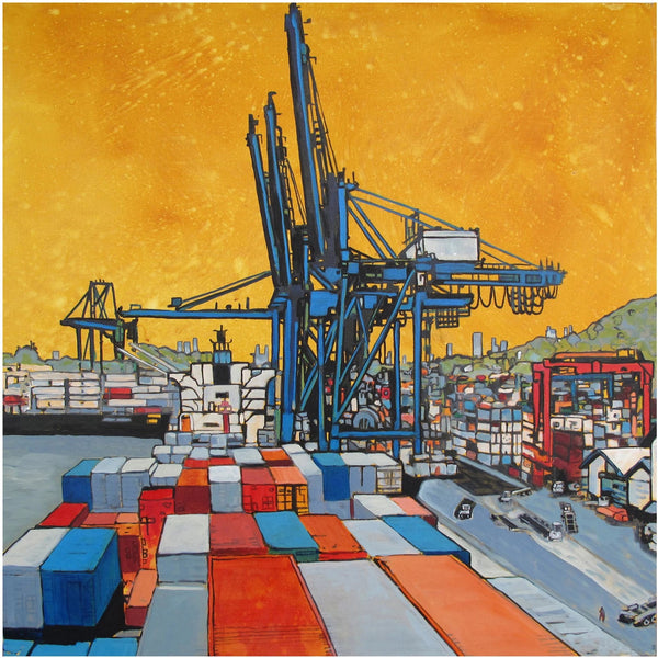 Port of Call Print 16x16