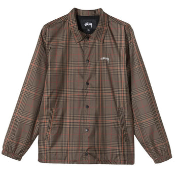 PLAID COACH JACKET