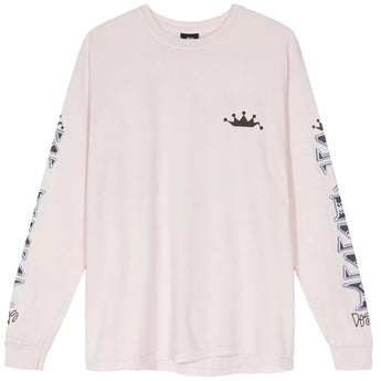 IRIE STUSSY PIG. DYED LS TEE