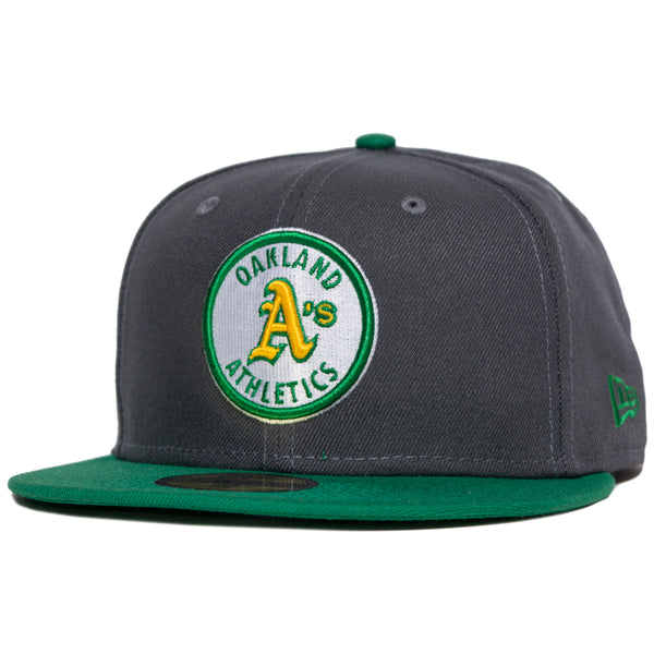 New Era Oakland A's 5950 Dark Graphite