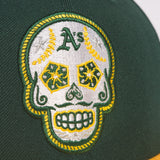 New Era Oakland A's Sugar Skull 5950 Fitted