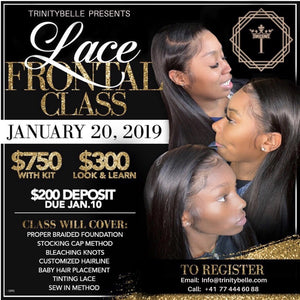 Lace Frontal Class - Look & Learn
