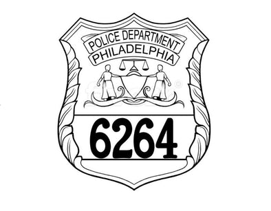 Philadelphia Police Badge