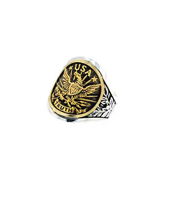 Santa Fe Jewelry King Baby Eagle USA Cigar band.